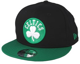Boston Celtics Contrast Team 9Fifty Black/Green Snapback - New Era