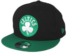 Boston Celtics Contrast Team 9Fifty Black/Green Snapback - New Era