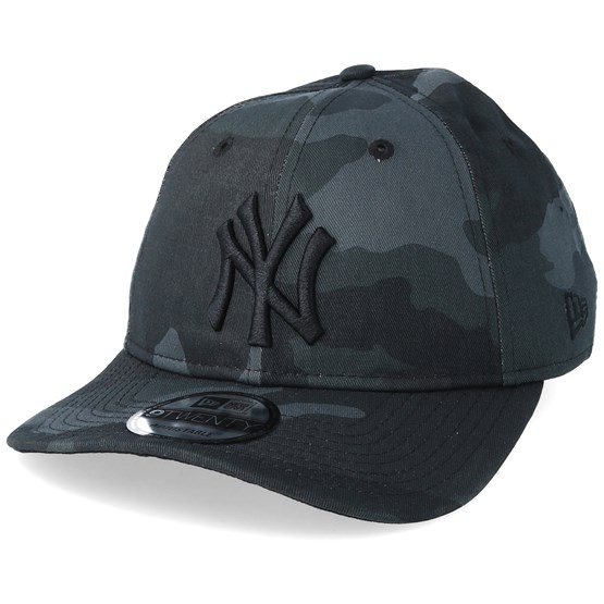 931c8ec977f New York Yankees Packable 9Twenty Grey Camo Adjustable - New Era caps