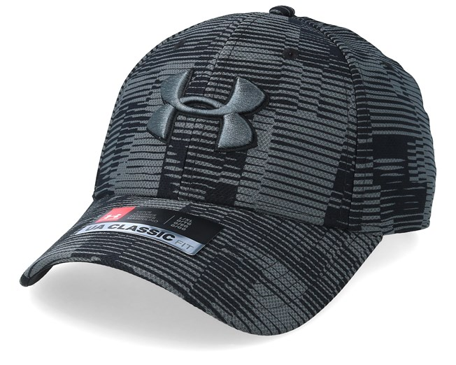 ac3c6db39d97 Men´s Printed Blitzing 3.0 Charcoal/Black Flexfit - Under Armour caps -  Hatstoreaustralia.com