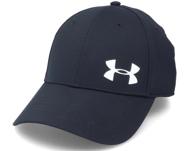 0227ad416a883 Men´s Golf Headline Cap 3.0 Black White Flexfit - Under Armour caps -  Hatstoreaustralia.com