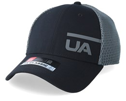 Men´s Train Spacer Mesh Cap Black/Grey Flexfit - Under Armour