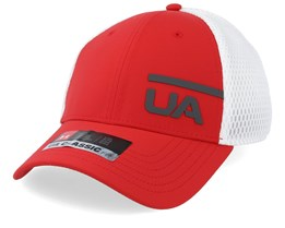 Men´s Train Spacer Mesh Cap Barn/White Flexfit - Under Armour