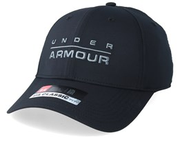 Men´s Wordmark Str Cap Black Flexfit - Under Armour