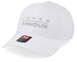 Wordmark STR White Flexfit - Under Armour