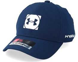 Kids Official Tour Cap 3.0 Navy Flexfit - Under Armour