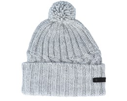 Hideaway Haven™ Unlined Beanie Grey Pom - Columbia