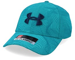 Men's Printed Blitzing 3.0 Teal Rush Flexfit - Under Armour