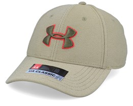 Men´s Heathered Blitzing 3.0 Outpost Green Flexfit - Under Armour