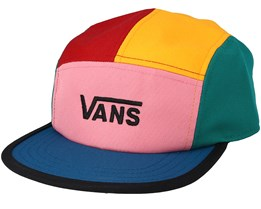 Patchy Hat Multi 5-Panel - Vans