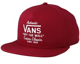 Wabash Rhumba Red Snapback - Vans