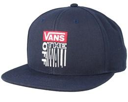 Block Snapback Navy Snapback - Vans