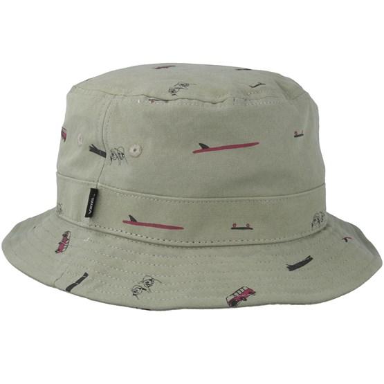 fde8562c285 Undertone Oil Green Bucket - Vans hats - Hatstoreworld.com