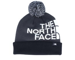 Kids Ski Tuke Asphalt Grey/Black/White Pom - The North Face