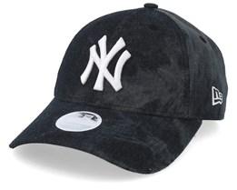 New York Yankees Women Tie Dye 9Forty Black/White Adjustabel - New Era