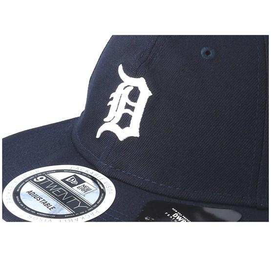DETROIT TIGERS NAVY NEW ERA 9TWENTY ESSENTIAL PACKABLE CAP