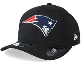 New England Patriots Stretch Snap 9Fifty Black/White Snapback- New Era