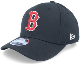ce2337298df Boston Red Sox Stretch Snap 9Fifty Black Red White Snapback- New Era