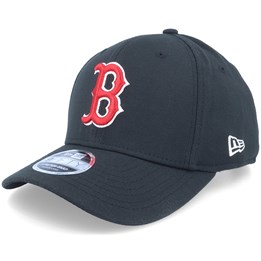 New Era Boston Red Sox Stretch Snap 9Fifty Black Red White Snapback- New Era  US  34.99 074273a6b5f