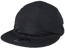 Rain Camo Reversable Camper Black/Heather Grey 5-Panel - New Era