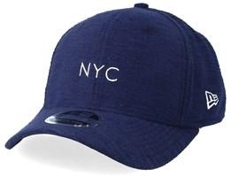 Slub NYC 9Fifty Stretch Navy Adjustable - New Era