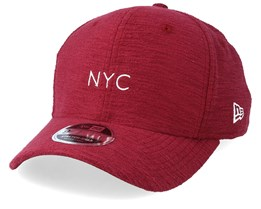 Slub NYC 9Fifty Stretch Red Adjustable - New Era