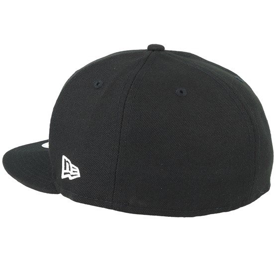 734a205a NE Side 59Fifty Black Fitted - New Era caps | Hatstore.co.uk