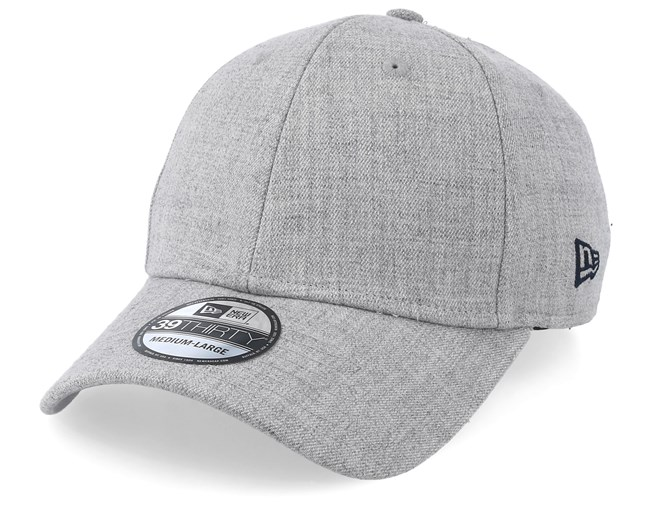premium selection ccc73 1615f Heather 39Thirty Light Grey Fitted - New Era caps - Hatstore.ae