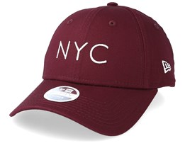 NYC Women Essential 9Forty Burgundy Adjustable - New Era