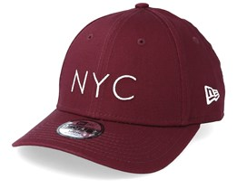 Kids NYC Essential 9Forty Burgundy Adjustable - New Era