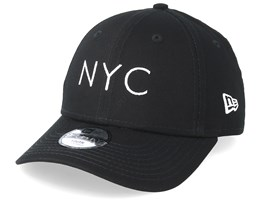 Kids NYC Essential 9Forty Black Adjustable - New Era