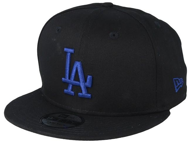 a49f745bd7bc4 Los Angeles Dodgers MLB 9Fifty Black Blue Snapback - New Era caps -  Hatstoreaustralia.com