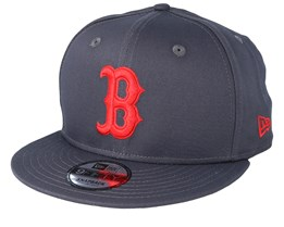 fb38a9178a7 Boston Red Sox MLB 9Fifty Grey Red Snapback - New Era