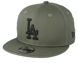 Kids Los Angeles Dodgers League Essential 9Fifty Dark Green/Black Snapback - New Era
