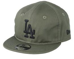 Kids Los Angeles Dodgers Infant League Essential 9Forty Green/Black Snapback - New Era