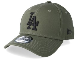 8ea17a3e0b4bb Los Angeles Dodgers League Essential 9Forty Dark Green Black Adjustable - New  Era
