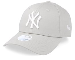 New York Yankees Women League Essential 9Forty Stone/White Adjustable - New Era