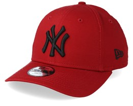 98981ce57c8 Kids New York Yankees League Essential 9Forty Dark Red Black Adjustable -  New Era