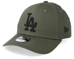 658da715bf165 Kids Los Angeles Dodgers League Essential 9Forty Dark Green Black  Adjustable - New Era