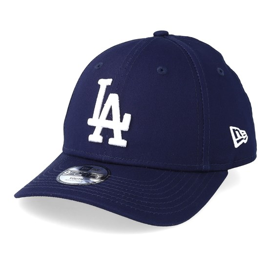 Kids Los Angeles Dodgers League Essential 9Forty Navy White Adjustable - New  Era caps - Hatstoreworld.com d12143592d53