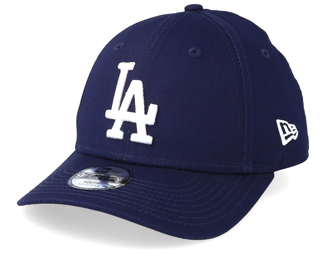 55bb2ee4297 Kids Los Angeles Dodgers League Essential 9Forty Navy White Adjustable - New  Era