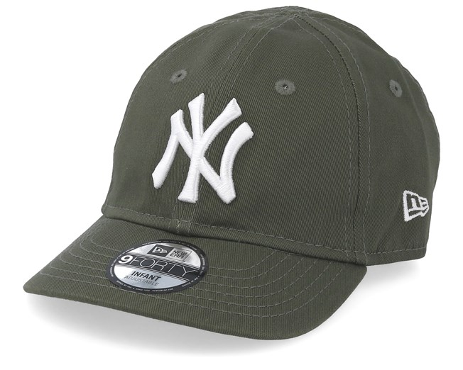 f3dab970b7256 Kids New York Yankees Infant Essential 9Forty Dark Green White Adjustable - New  Era cap - Hatstore.co.in