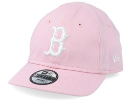 Kids Boston Red Sox Infant Essential 9Forty Pink/White Adjustable - New Era