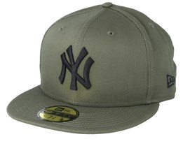 New York Yankees League Essential 59Fifty Dark Green/Black Fitted - New Era