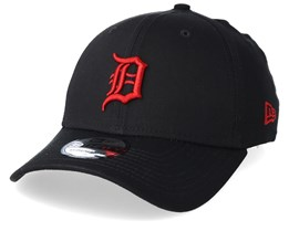 Detroit Tigers League Essential 39Thirty Black/Red Flexfit - New Era