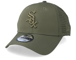 Chicago White Sox Feather Perf 9Forty Green Adjustable - New Era