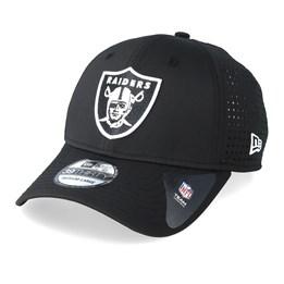 quality design 96cbf e40f7 New Era Oakland Raiders Feather Perf 39Thirty Black White Flexfit - New Era  ₹ 2,800. 47 Brand