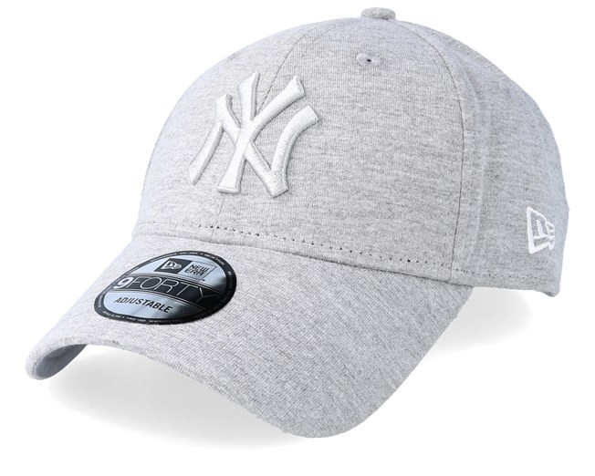 e0375a89c New York Yankees Essential Jersey 9Forty Heather Grey/Grey Adjustable - New  Era caps - Hatstoreworld.com
