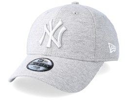 Kids New York Yankees Essential Jersey 9Forty Heather Grey/Grey Adjustable - New Era