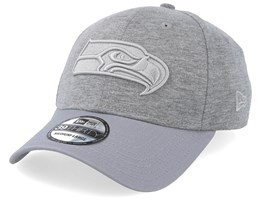 Seattle Seahawks Essential Jersey 39Thirty Heather Grey/Grey Flexfit - New Era